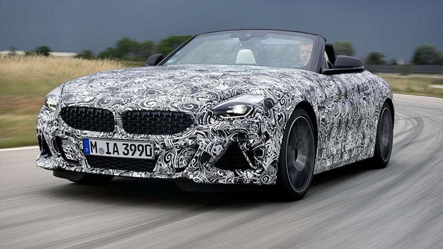 BMW 全新雙座跑車 Z4,預計將於 2019 年發售 bl72150-01-1