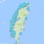 網友製作光陽電動機車充換電站地圖,西部換電站密密麻麻