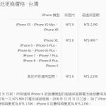 iPhone 原廠電池更換優惠最後 7 天,明年起調漲 700 元(iPhone X除外)