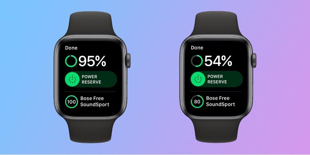 戴 Apple Watch Series 4 跑半馬2小時電量剩餘超過 50%,省電方法分享 watch-battery-half-marathon