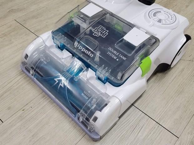[開箱] 向拖地說掰掰!Hippolo 無線洗地機幫你輕鬆搞定地板清潔,還能消毒殺菌 20200329_145440
