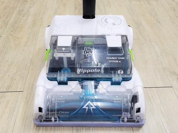 [開箱] 向拖地說掰掰!Hippolo 無線洗地機幫你輕鬆搞定地板清潔,還能消毒殺菌 20200329_145456