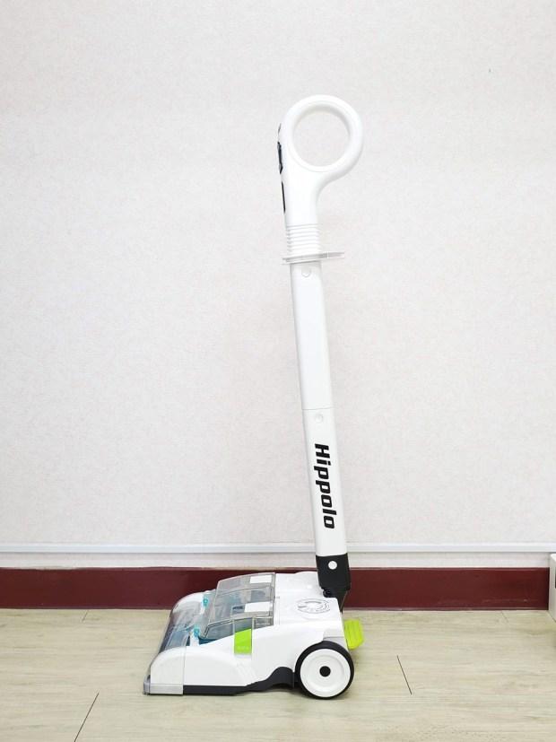[開箱] 向拖地說掰掰!Hippolo 無線洗地機幫你輕鬆搞定地板清潔,還能消毒殺菌 20200329_145547