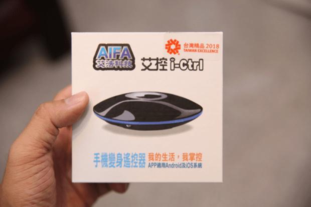 AIFA 艾控i-Ctrl Pro 升級版,追加溫溼度感應器與 A.I.智慧排程功能,會懂你的遙控器! image-1