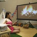 OVO 推出無框電視 K1,輕鬆爽投200吋大螢幕,一台滿足看電視、追劇、K歌與商務投影需求