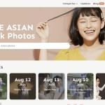 免費亞洲面孔圖庫 xFrame (可商業使用)