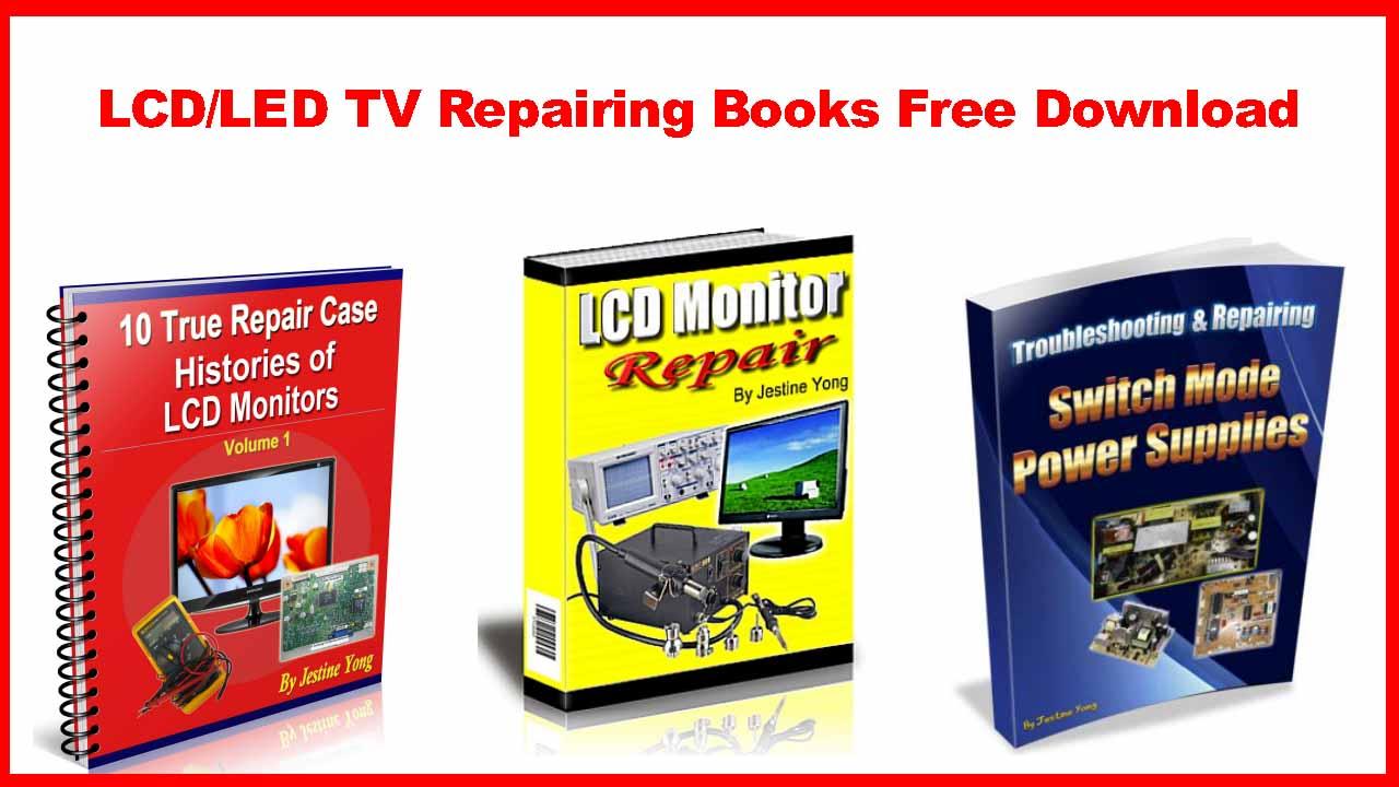 LCD/LED TV Repairing Books Free Download