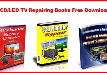 LCD/LED TV Repairing Books Free Download
