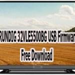 GRUNDIG 32VLE5500BG USB Firmware Free Download