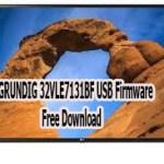 GRUNDIG 32VLE7131BF USB Firmware Free Download