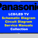 Panasonic LCD LED TV Schematic Circuit Diagram