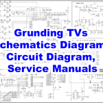 Grunding TVs Schematics Diagram