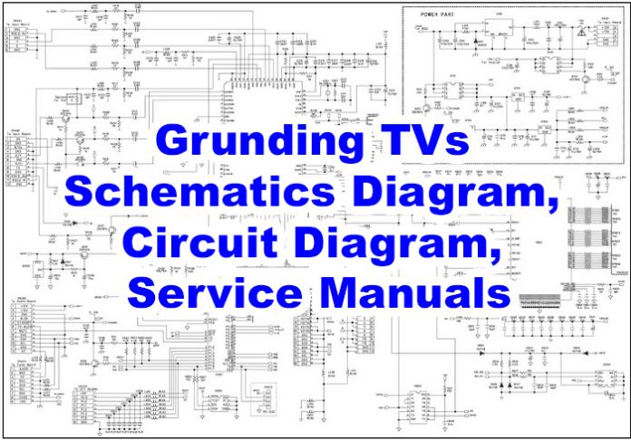 Grunding TVs Schematics Diagram