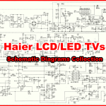Haier LED TV Schematics Diagram