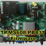 TP.MS608.PB831 Firmware Download