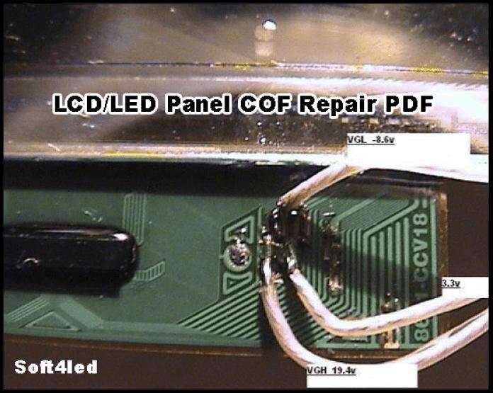 LCD/LED Panel COF Repair PDF