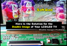 LCD/LED TV Screen Panel Double Image Repair PDF Collection