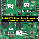 LCD/LED TV Display Panel Connection & Voltages Understanding