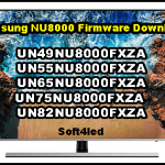 Samsung NU8000 Firmware Download