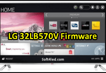 LG 32LB570V Firmware Free Download