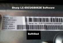 Sharp LC-65CUG8062E Software Free Download
