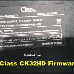 Class CK32HD Firmware/Software Free Download
