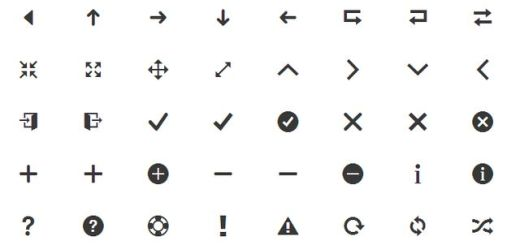 Cosmo mini, un pack con más de 1200 variados iconos gratuitos
