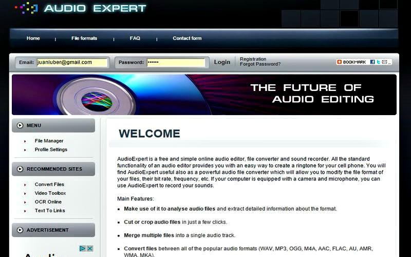 Audio Expert 5 utilidades web gratuitas para crear y editar sonidos