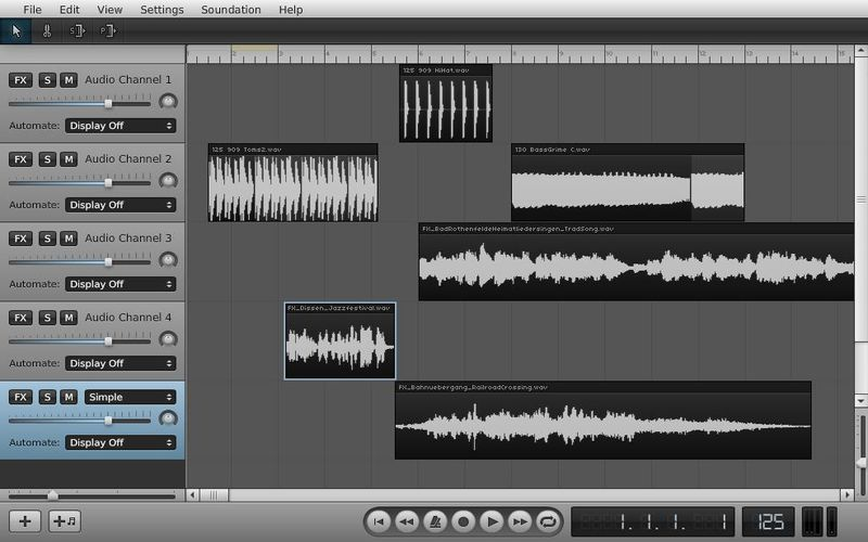 Soundation Studio 5 utilidades web gratuitas para crear y editar sonidos