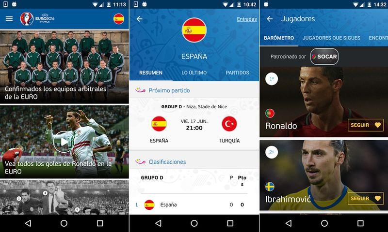 Eurocopa 2016 en tu Android Apps Android para seguir la Eurocopa 2016 y la Copa América 2016