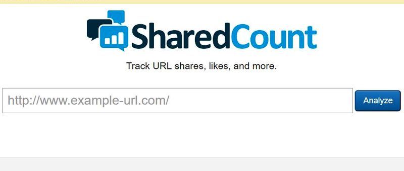 7 Herramientas SEO gratuitas que debes conocer SharedCount 7 Herramientas SEO gratuitas muy poco conocidas