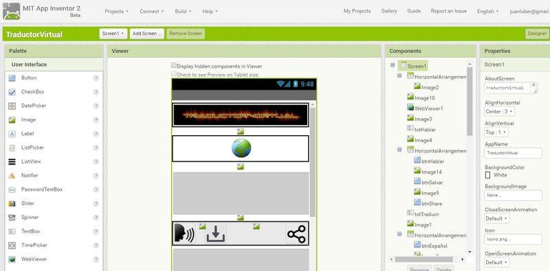 Crear apps Android sin programar MIT App Inventor 5 herramientas gratis para crear apps Android sin programar