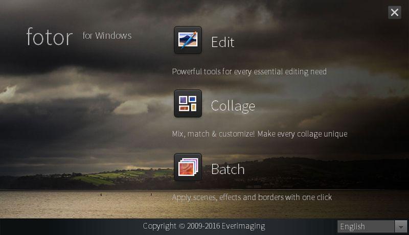 Fotor for Windows varias herramientas Fotor for Windows: genial software gratuito para editar imágenes y fotos