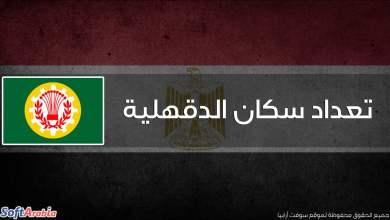 عدد سكان محافظة الدقهلية