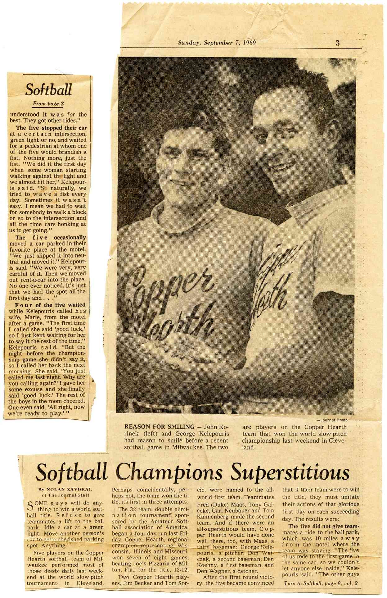1969  Softball History USA