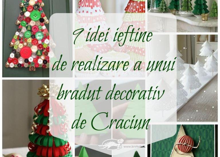 braduti decorativi de Craciun