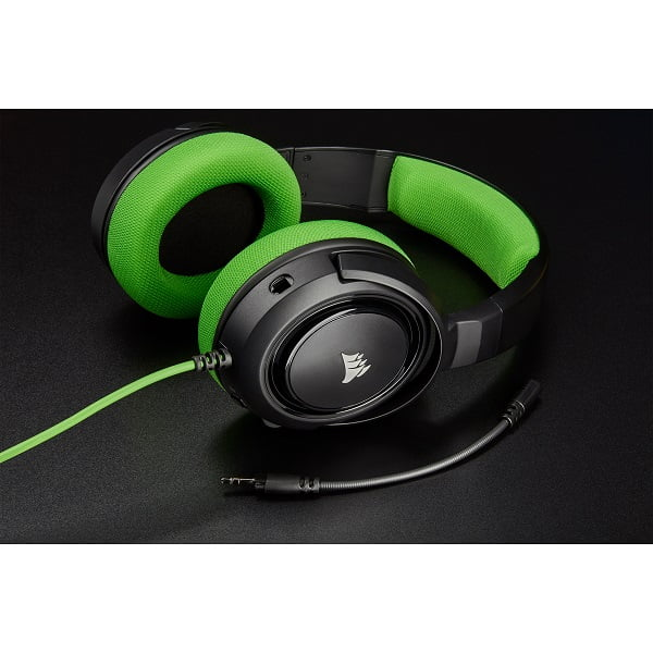 HS35 Stereo Gaming Headset Green
