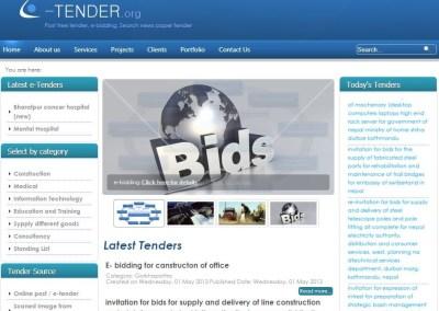 E-bidding Management System Software