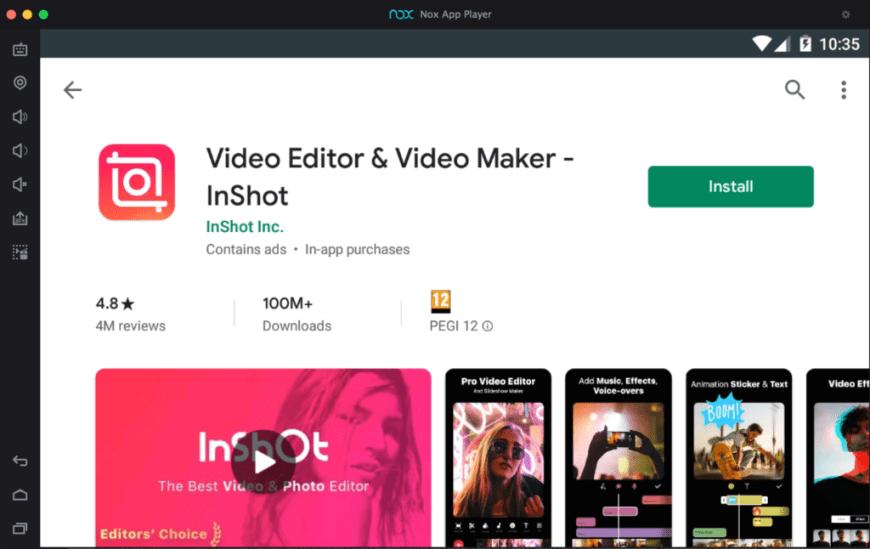 inshot-for-windows-mac-using-nox-emulator
