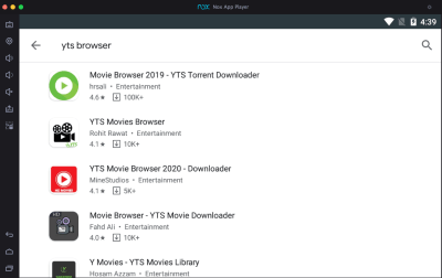 YIFY-browser-app-on-pc-using-nox-player
