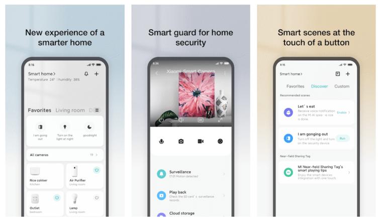 mi-home-app-features
