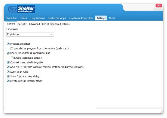 SpyShelter Anti-Keylogger Premium windows