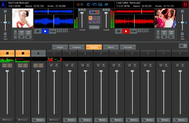 DJ Music Mixer windows