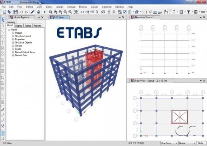 Etabs windows