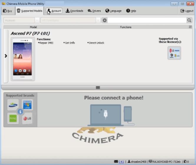 Chimera Tool Premium windows