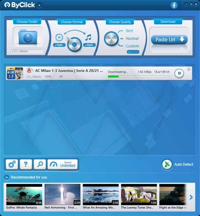 By Click Downloader Premium windows
