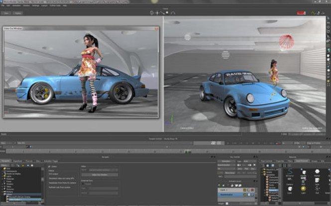 Autodesk MotionBuilder windows