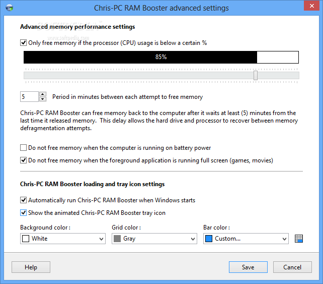 ChrisPC RAM Booster latest version