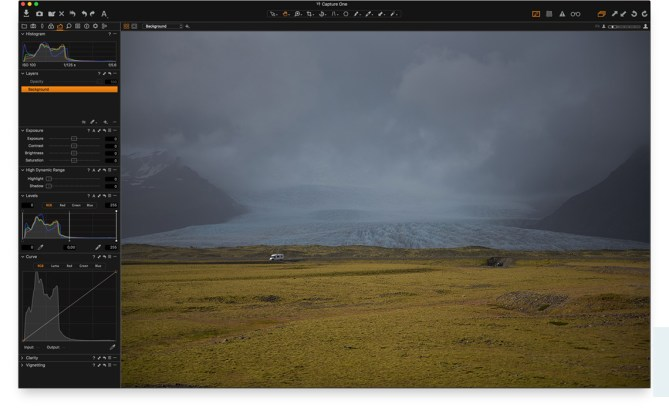 Capture One Pro windows