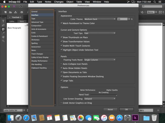 Adobe InCopy CC windows